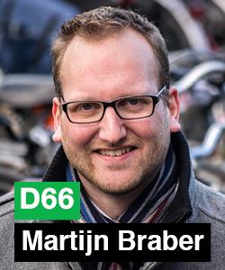 Mijn naam is Martijn Braber. Op woensdag 19 maart ben ik één van de kandidaten voor de gemeenteraad op wie jij kunt stemmen.