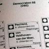 stembiljet D66